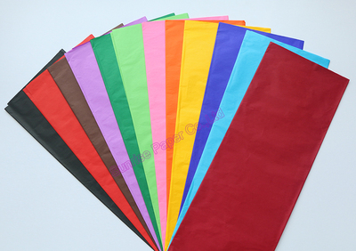 Color Tissue Paper (color bleeding)