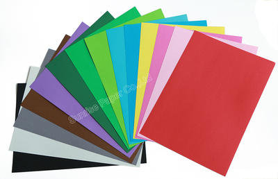 Color Offset Paper(color in pulp)